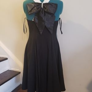 Vintage JS Collection Bowtie Dress